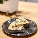 ; Honey Mascarpone Sourdough Toast It's no secret that this renowned Bali bakery has entered our Singapore scene and nestled itself within a very unassuming spot along Havelock Road.