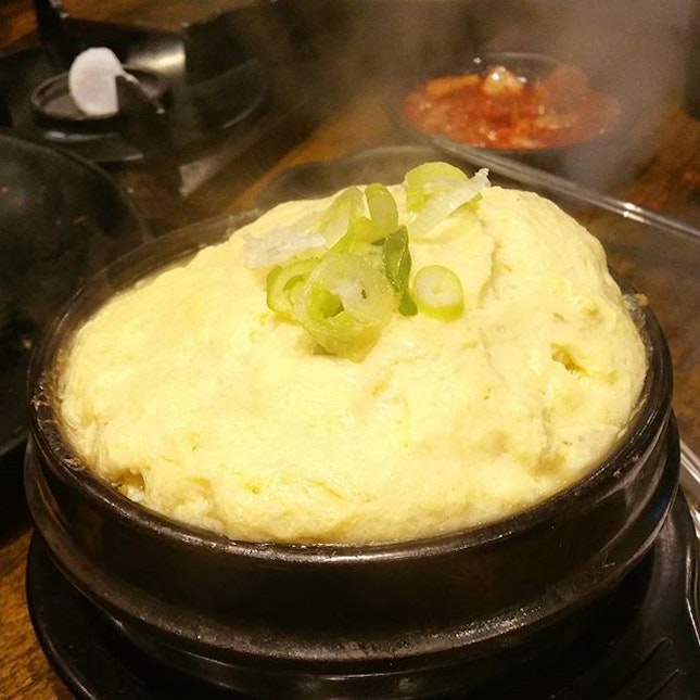Another must order: steamed egg!