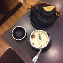 The other part of my set which includes chawanmushi and tea-pot soup.
