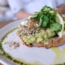 Smashed Avo on Sourdough  It's been awhile since we can enjoy a brunch .