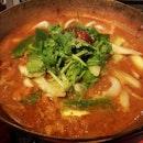 Thai Chicken Hotpot.
