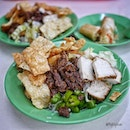 Recommended Vegetarian Bee Hoon ($4.00) with extra ingredients in the West area.