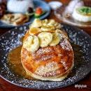 Gula Melaka Banana Pancake ($14.00) .