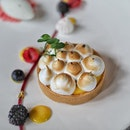 Must try Passionfruit Meringue Tart with Raspberry Jelly and Lemon Lime Sorbet available in a smaller version at Lime at ParkRoyal on Pickering @parkroyalpickering Dinner Buffet from $65.00++ (Sun to Thur) and $72.00++ (Fri and Sat) per pax.