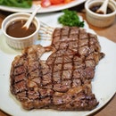 Choose a Beef Steak from their Meat Counter: .