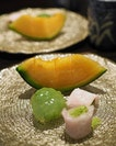 Yabari Melon Slices harvested in Hokkaido's short summer.