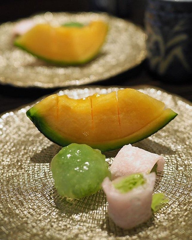 Yabari Melon Slices harvested in Hokkaido's short summer.