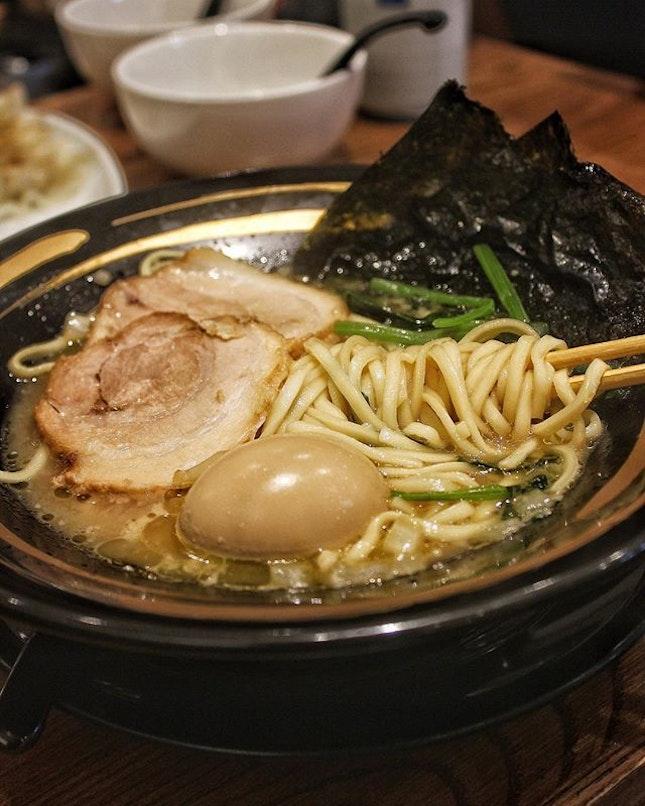 Tonkotsu Shoyu ($14.80) Cheers to supple skin as you slurp down a collagen-riched ramen broth simmered with Chicken and Pork Bone.