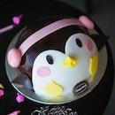 Cutie Cuddly Penguin 🐧 Cookies & Cream Ice Cream with Dark Chocolate 🍫 from @haagendazssg .