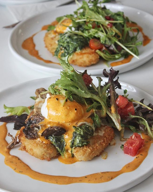 Quorn's Benedict ($12.00) Outgoing, upbeat, down-to-earth.