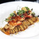 Crowning the title- 'Rolls Royce of Prawns' to The Carabinero ( Spanish Red Prawn ) Boasting firm, crunchy texture resembling that of a lobster flesh.