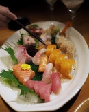 Sushi Kimawi ($98++) which includes: .