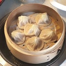 Crave popping dainty pleats of meaty Xiao Long Bao ($10++) in a Hot Pot restaurant @yuelongmenhotpot .