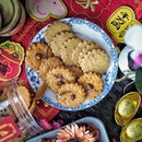 @oldchangkeesingapore Old Chang Kee has introduced two local flavors cookies for this CNY featuring the savoury Curry cookie and Nasi Lemak cookie at $16.80 per jar.