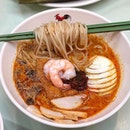 Laksa D'Lite ($8.80) Curtain calling the week with a D'liteful laksa dished using homemade rempah recipe.