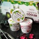 Häagen-Dazs' @haagendazssg has launched the new Kiwi & Mango Frozen Yogurt and bringing back the favourite Strawberry Frozen Yogurt for this summer.