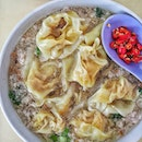 Bak Chor Mee with big pork dumpling and minced meat at only $3.50 .