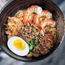 Superior Prawn Mee Pok($19.00) from @izyfook.