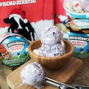 @benandjerrysg has launched the latest limited edition flavours, Red, White & Blueberry for this festive season.