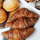 Oven-Baked Pastries from @fssingapore for breakfast and my afternoon tea break.