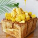 Mango Toast ($12.90)