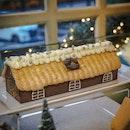 Christmas Holiday Cabin Log Cake ($82.00 nett / 1 kg)