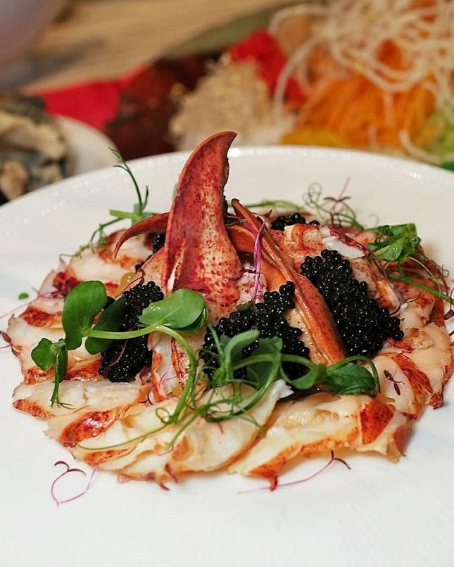Lobster (Cooked) & Caviar Yu Sheng (鱼子酱波士顿龙虾捞起)