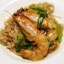 Braised Mee Pok Noodles with Fresh Prawns,
