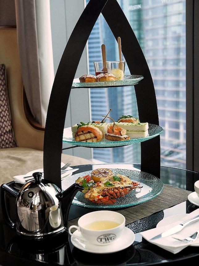 Seafood Afternoon Tea