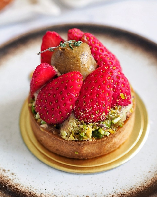 Strawberry Pistachio