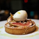 Fig, Pine Nut and Mascarpone Custard Tart