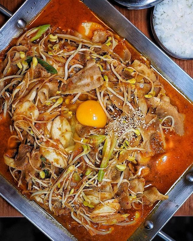 Authentic Korean dishes