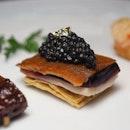 Crispy Suckling Pig with Osetra Caviar
