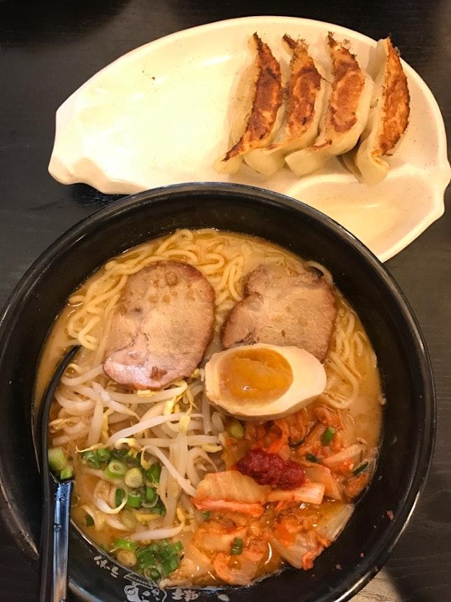 kimchi chashu ramen