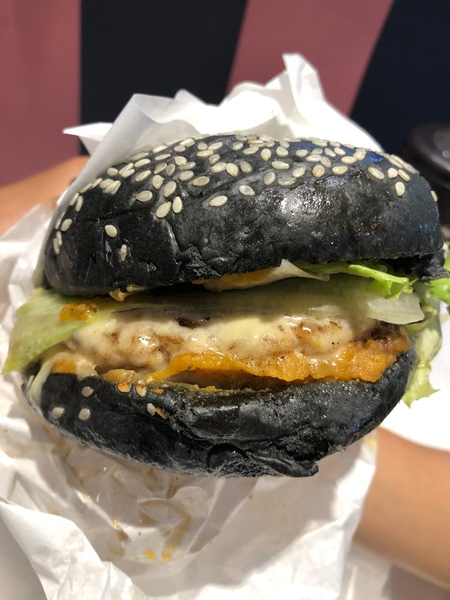 SALTED EGG BURGER