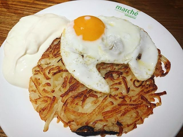 Thinking of the #rosti from @marchesingapore which i had this week.