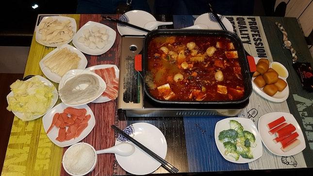 Lychee Chong Qing Grill Fish # 九宫 #small Size Fish #3pax