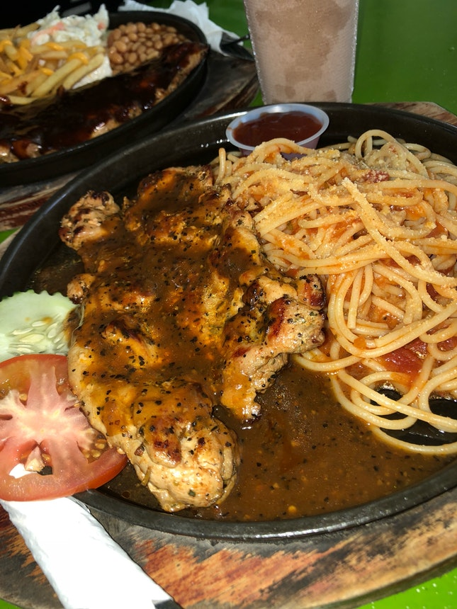 Western in the west by eunice pang burpple chicken chop spaghetti forumfinder Images