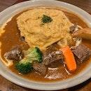 Beef Stew Omu Rice