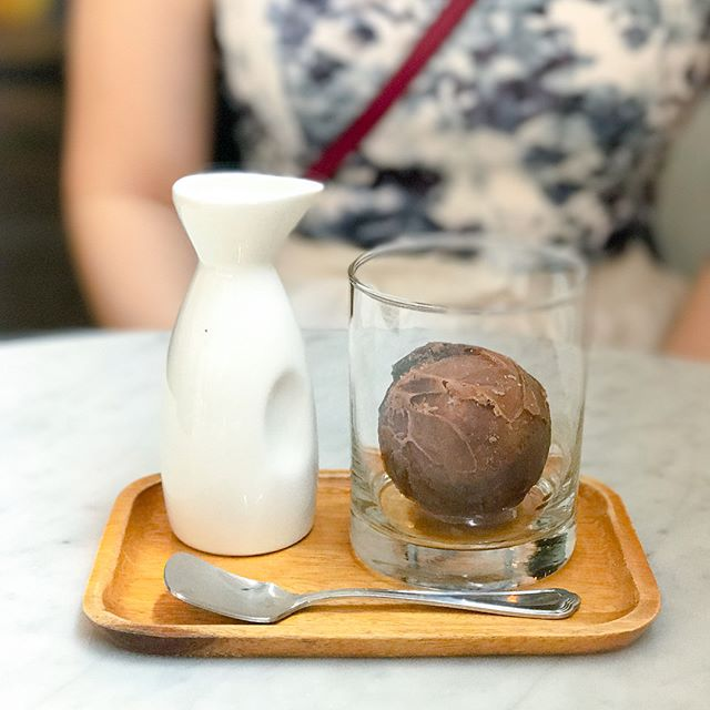 Praline coffee baller [$8.50++] Iced coffee with a twist!