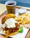 Chicken namban burger - Not on the current menu yet, launching soon on 23rd October!
