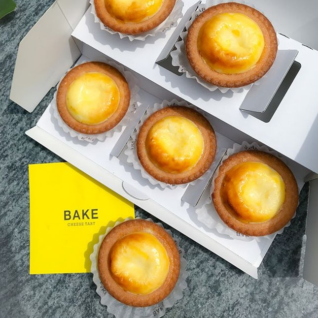 Bake cheesetart [PROMO: 6 for $10, UP: $3.50 each]  LAST DAY to grab your chance for a ~50% off these bake cheese tarts (with no queue and no frills 😎) when u download the Club Bake app!
