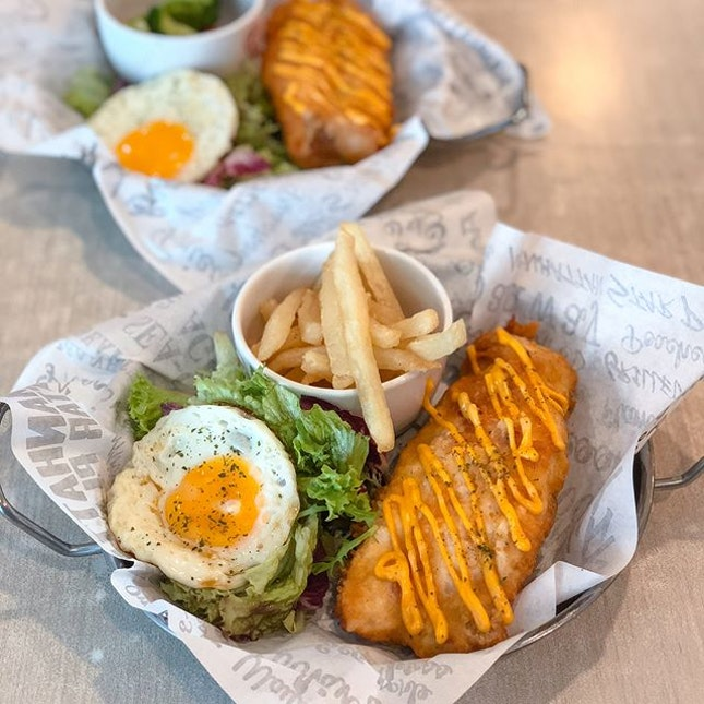 Fishy chicky bang bang [$14.90++] LAST day to enjoy 1 for 1 mains now from 2.30-4.30pm/ 8.30-9.45pm!