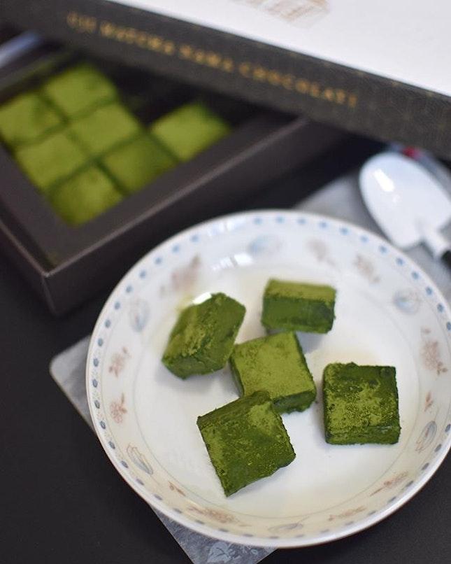 Uji matcha chocolate [$22.50] .