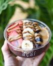 Nutty-salted caramel acai bowl [$9.30/regular] .