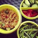 #quinoa for #lunch Mmmm~