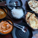 Butter Chicken, Mutton Rogan Josh, Plain/Butter Naan