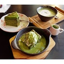 The perfect combi of hot and cold in this sizzling pan.🍳A must go for all matcha lovers in HK.😄