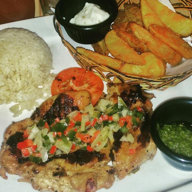 Salsa Cruda Chicken
