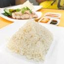 • Pyramid • Chicken Rice • 香 • 粒粒分明 •